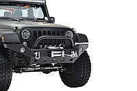 Передний бампер силовой тюнинг Jeep Wrangler JK R8 ALASKA
