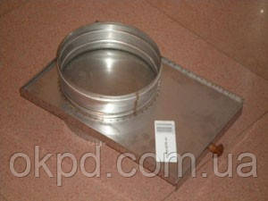 Кагла диаметром 120 для дымохода из нержавеющей стали марки  AISI 304 толщиной 00 мм
