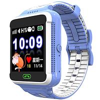 Детские Gps часы Новинка! Q500s Smart Baby Watch  Голубой