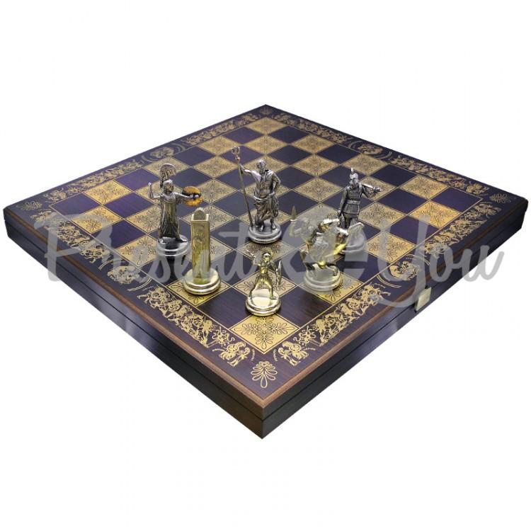 Шахматы «Посейдон»,Греция,MANOPOULOS 48х48 см (088-1906SM)
