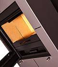Отопительная печь-камин длительного горения FLAMINGO EVENES (серый), фото 4