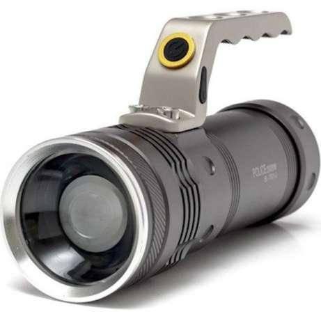 Фонарь прожектор фонарик T801 с зумом 158000W Оригинал