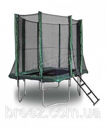 Прямоугольный батут KIDIGO™ 215 х 150 см. с защитной сеткой , фото 2