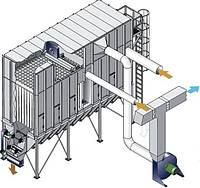 Фильтр MHL c регенерацией фильтровальных рукавов для системы аспирации