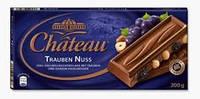 Немецкий шоколад Chateau - Trauben Nuss - 200 гр.