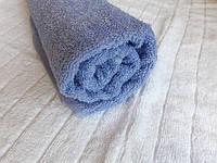 Полотенце пл 450 махровое плотное Туркменистан 50х90 светло-сиреневое