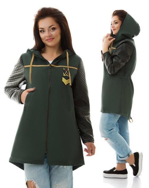 Стильная осенняя одежда для полных женщин