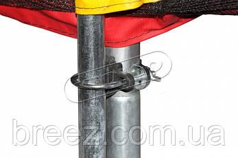 Батут KIDIGO 244 см. с защитной сеткой, фото 2