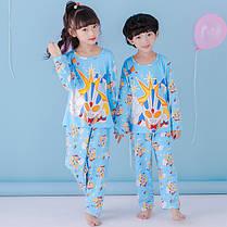 Пижама трикотаж с длинным рукавом и штанами унисекс, фото 2