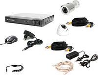 Комплект видеонаблюдения Tecsar 2OUT LUX MIX