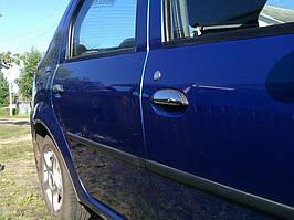 Нержавеющие накладки на ручки (4 шт.) к Renault Logan II 2008-2013 гг.
