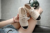 Стильные женские ботинки на шнурке