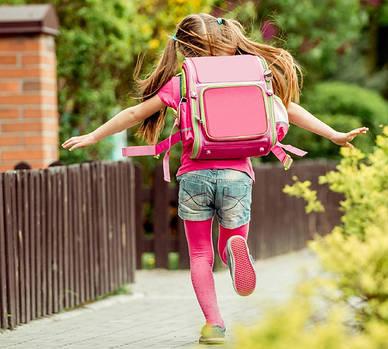 Как правильно носить школьный рюкзак