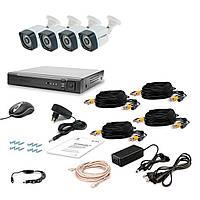 Комплект видеонаблюдения Tecsar 4OUT LIGHT LUX