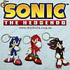 """Брелки Соник - """"Sonic Keychain"""" - 3 шт."""