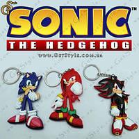 """Брелки Соник - """"Sonic Keychain"""" - 3 шт., фото 1"""
