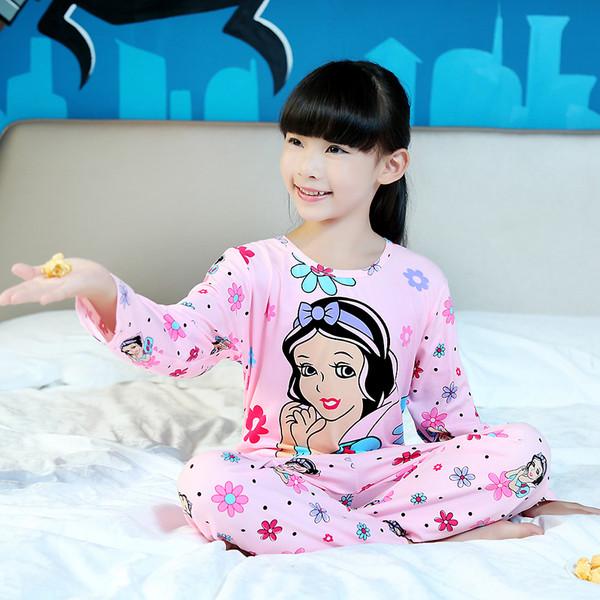 Пижама для девочки трикотаж с длинным рукавом