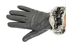 Женские перчатки Felix с мехом 10w-634, фото 3