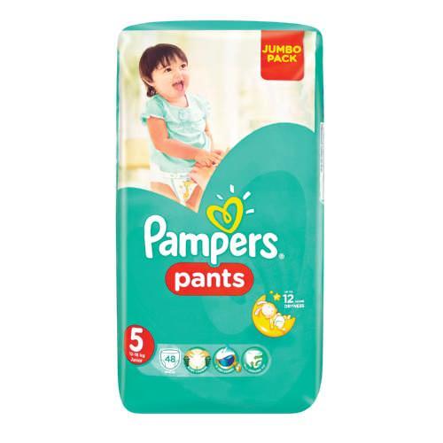 """Трусики PAMPERS Pants 5 Junior (12-18кг) 48шт. - """"Мэри Поппинс"""" интернет-магазин в Чернигове"""