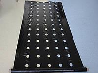 Пленка мульчирующая черная с перфорацией 30х25 см, 25 мкм, 1,2х1000 м