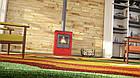 Отопительная печь-камин длительного горения FLAMINGO EVENES (красный), фото 5
