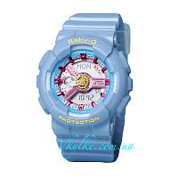 ЧАСЫ CASIO BABY G BA-110 BLUE AAA