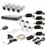 Комплект видеонаблюдения Tecsar 8OUT LUX MIX