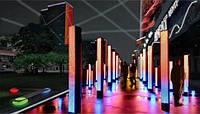 Новогодняя светодиодная гирлянда  уличная с программным пультом управления дистанционным трубка 10 м 600 ламп