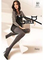 Колготки Gatta DOTSY 02 женские с узором Цвет: Mel. Nero
