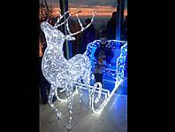 Новогодняя светодиодная гирлянда  уличная с программным пультом управления дистанционным трубка 29 м 1720 ламп