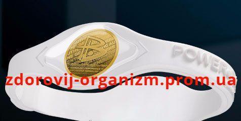 Браслет Power Balanceс золотой голограммой турмалиновой Gold Hologram Silicone Wristband