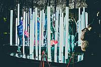 Новогодняя светодиодная гирлянда  уличная с программным пультом управления дистанционным трубка 40 м 2400 ламп