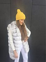 Желтая шапка-резинка, фото 1
