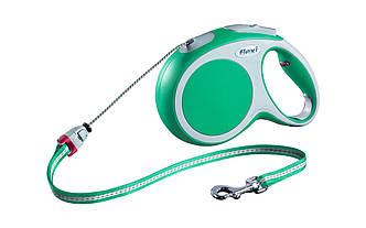 Flexi (Флекси) NEW COMFORT CORD (НЬЮ КОМФОРТ ТРОС М) поводок-рулетка для собак, 5 м, 20 кг