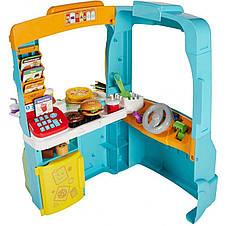 Интерактивный двухсторонний  комплекс Автобус-кухня-магазин  Fisher-Price, фото 2