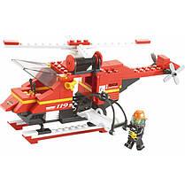 Конструктор SLUBAN арт.M38-B0227 «Пожарные спасатели» 727 деталей, фото 3