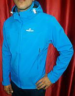 Куртка  мужская голубая