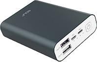 Портативная батарея GOLF Power Bank 10000 mAh Edge X3 Li-pol Grey