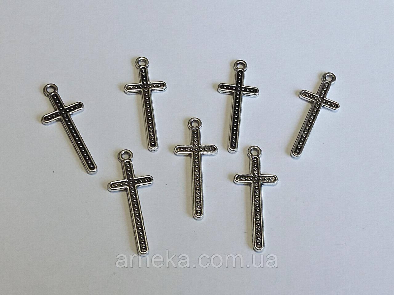 Подвеска Крест 3 см