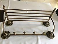 Вешалка для полотенец с крючками Stilars 132034