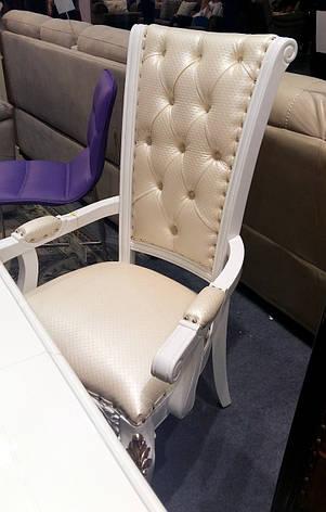 Стілець обідній Ермітаж, білий, фото 2