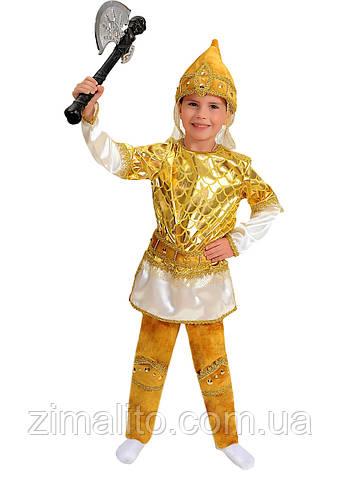 Витязь карнавальный костюм детский