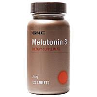 Мелатонин GNC Melatonin 3 mg (120 таб.)