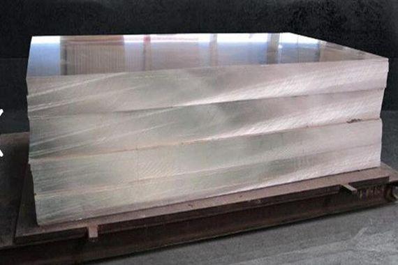 Плита алюминиевая 80 мм 5754 Н111 аналог АМГ3М