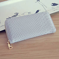 Женский кошелек светлый серый 1815, фото 1