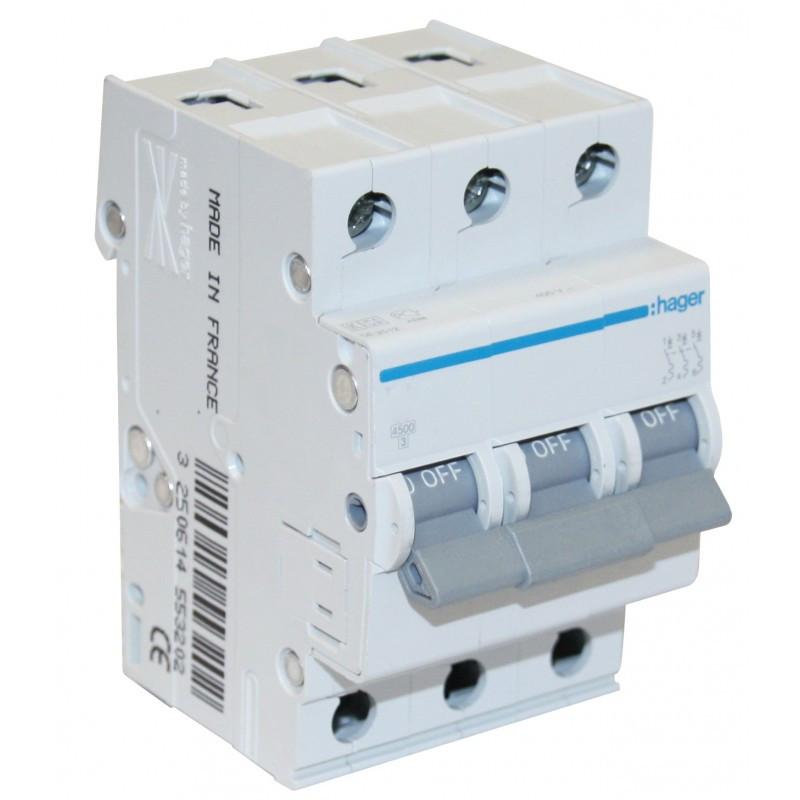 Автоматический выключатель  MC310A Hager