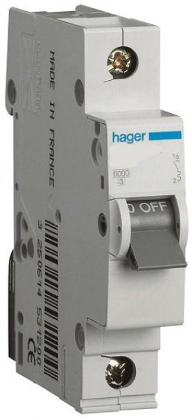 Автоматический выключатель  MC125A Hager