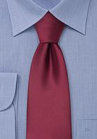Галстук мужской бордовый
