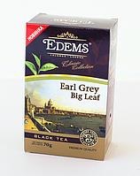 Чорний листовий чай «Edems Earl Grey Big Leaf», 70г