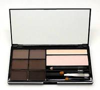 Косметический набор для бровей Cosmetics Brow Artistry Palette Malva (478-2) № 02